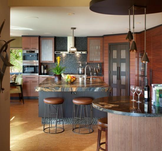 Granite countertop kitchen countertop materials - Kitchen countertop designs photos ...