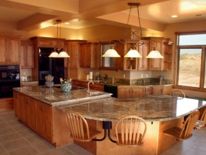Granite countertops color