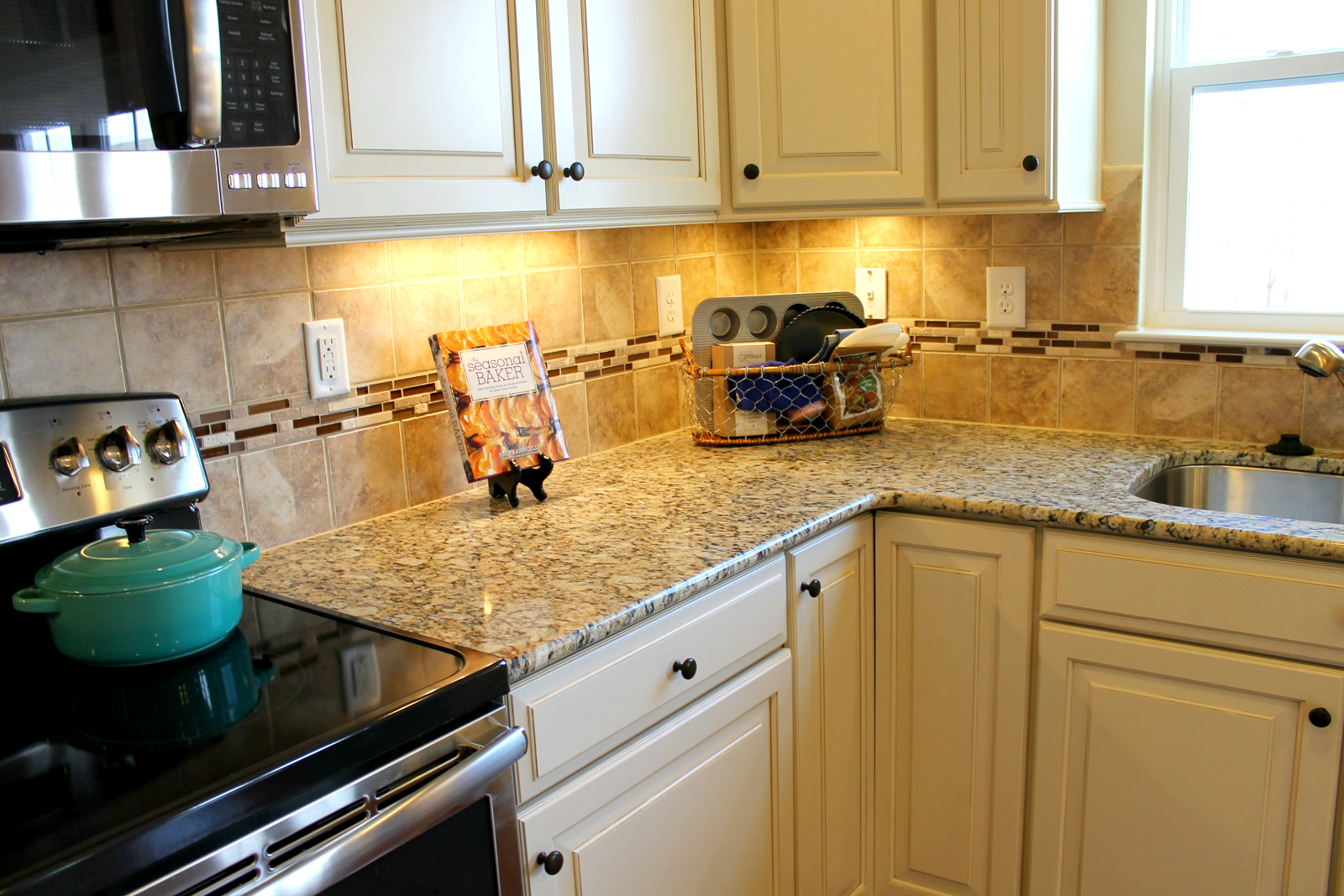 Ordinary Santa Cecilia Backsplash Ideas Part - 13: Santa Cecilia Granite