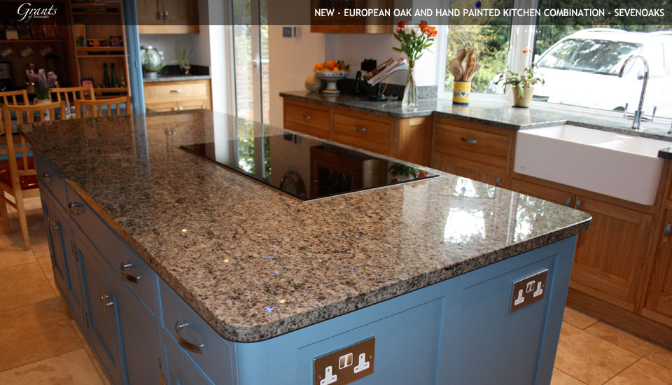 Blue Eyes Granite Countertop