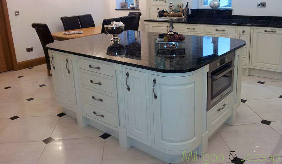 Emerald Pearl Granite Countertops With White Cabinets Emerald Pearl