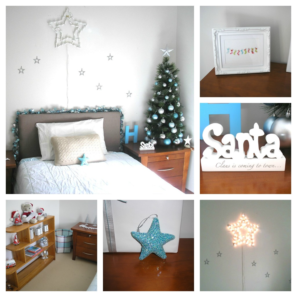 Christmas decoration for boy  bedroom