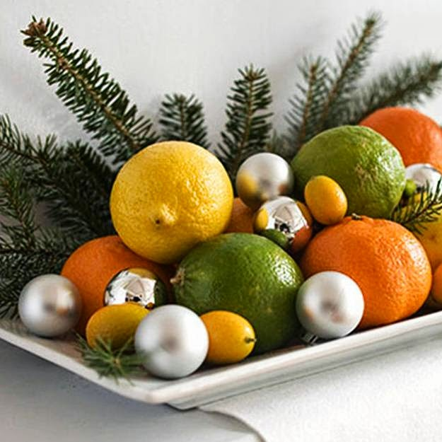 Picture Credit: Decor4all via   homedecordesigns. I am inspired with the lemon scents while I was reading the blog of  Home Decor Designs. Lovely pick for Christmas. Thank you Vidya