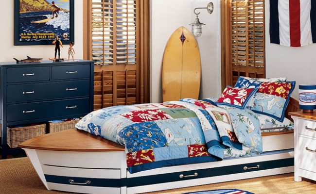 Surfer Boy Bedroom Ideas
