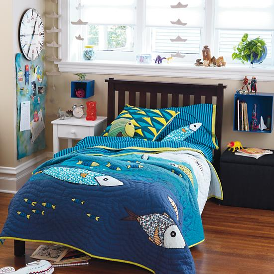 Under The Sea Ocean Creatures Theme Boy Bedroom