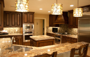 Typhoon bordeaux dark cabinets backsplash ideas