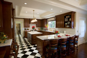 Bianco Romano Granite Dark Cabinets Backsplash Ideas