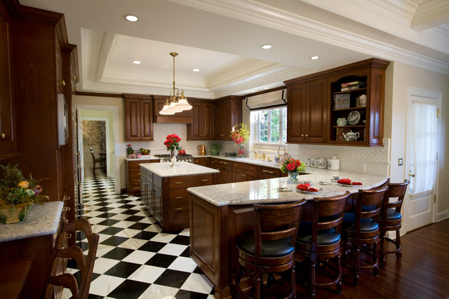 Bianco Romano Granite Dark Cabinets Backsplash Ideas