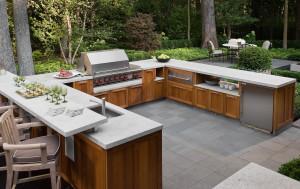 Backyard Granite Countertop