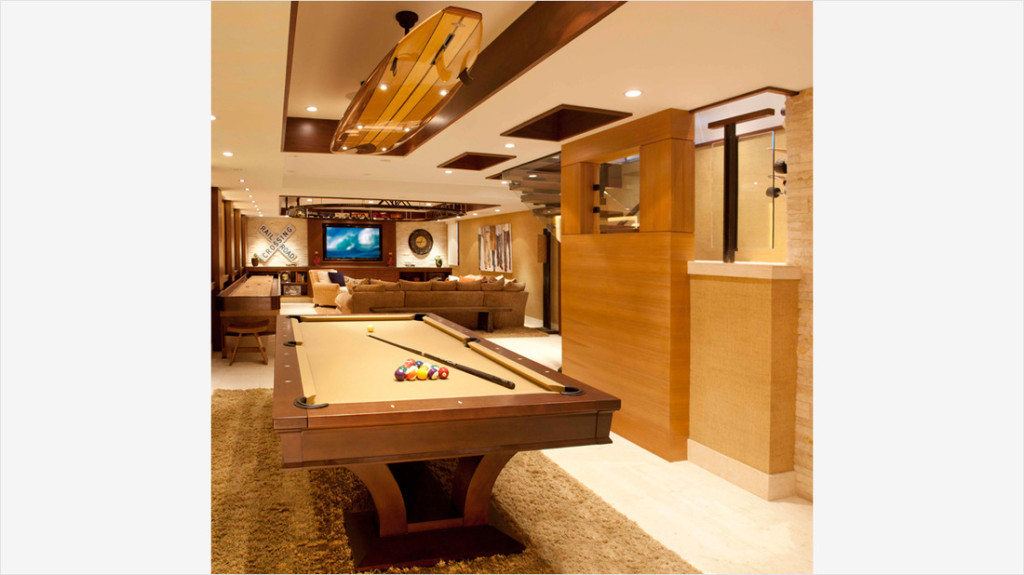 Basement with Pool Table Ideas