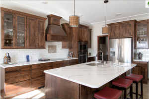 Cambria Brittanicca Dark Cabinets Backspalsh Ideas