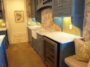 Cambria Ella Countertop Dark Cabinets Backsplash Ideas