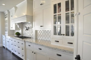 Arabesque Tile Backsplash
