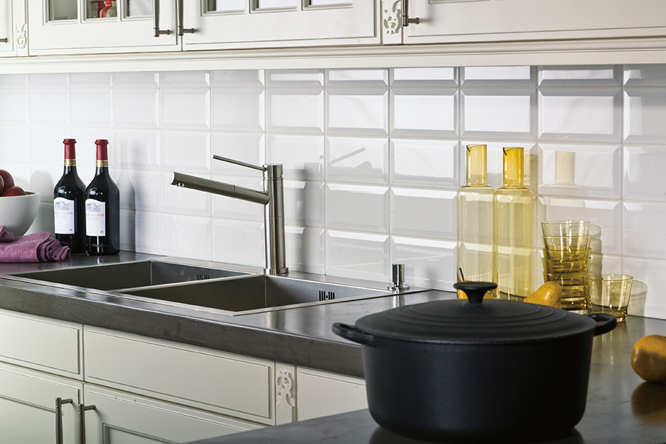 3d ceramic subway backsplash