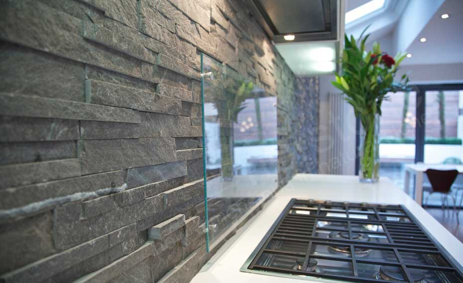 natural stone 3d backsplash