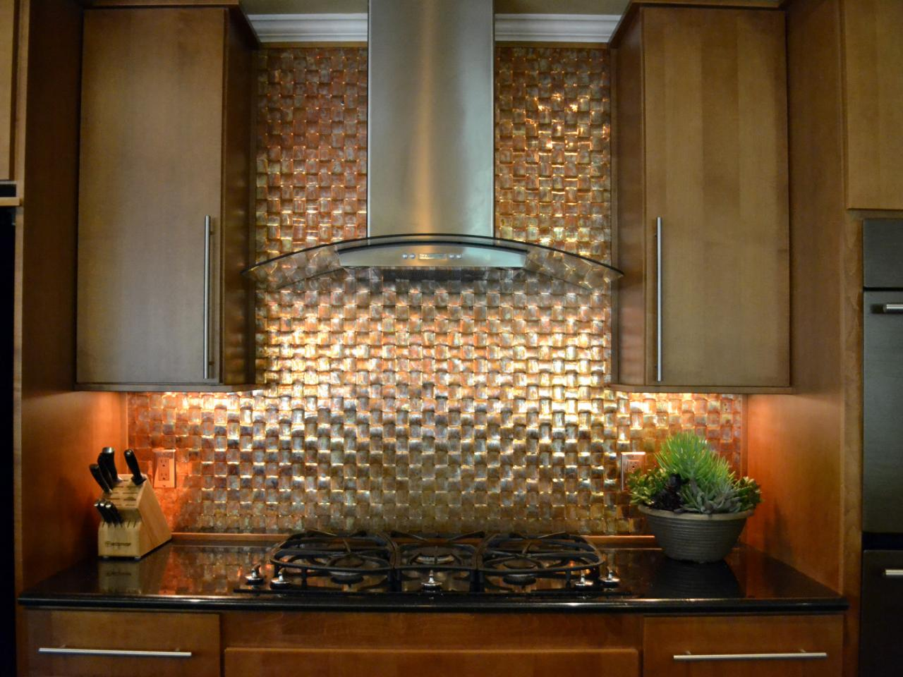 what is 3D backsplash tile
