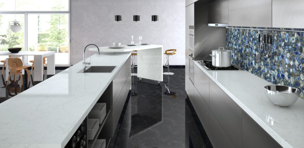 Caesarstone georgian bluffs for Caesarstone cost per slab