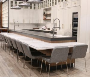 Caesarstone White Attica Quartz Kitchen Countertops