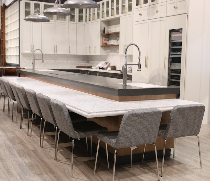 beige with colour dark your caesarstone chicagoc countertop com sasayuki choose kitchen canada countertops